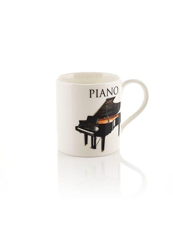 Music Word Mug - Piano