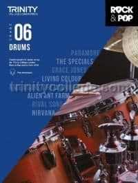 Rock & Pop Drums 2018 Grade 6