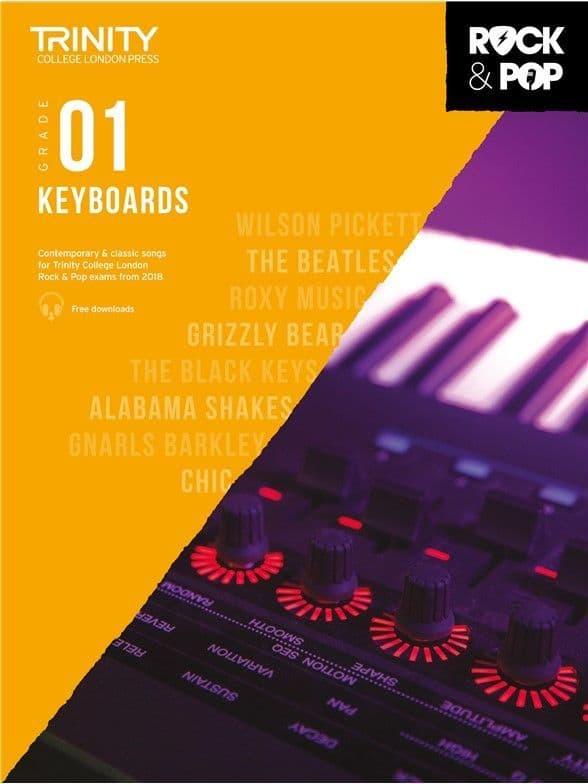 Rock & Pop Keyboard 2018 Grade 1