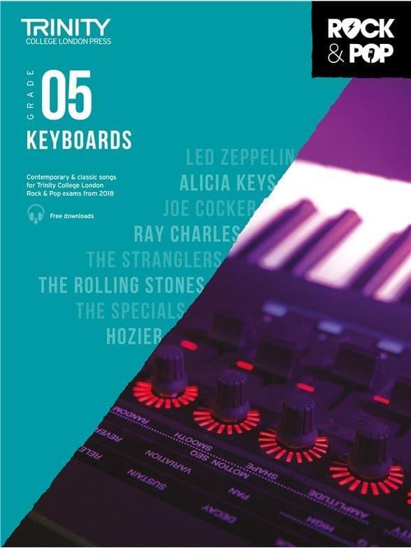 Rock & Pop Keyboard 2018 Grade 5