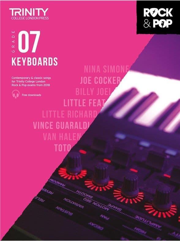 Rock & Pop Keyboard 2018 Grade 7