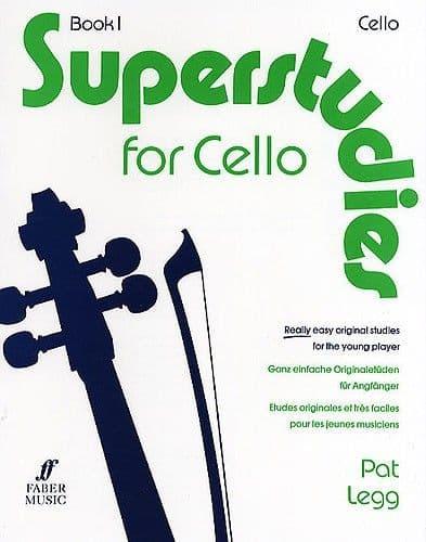 Superstudies for Cello Book 1