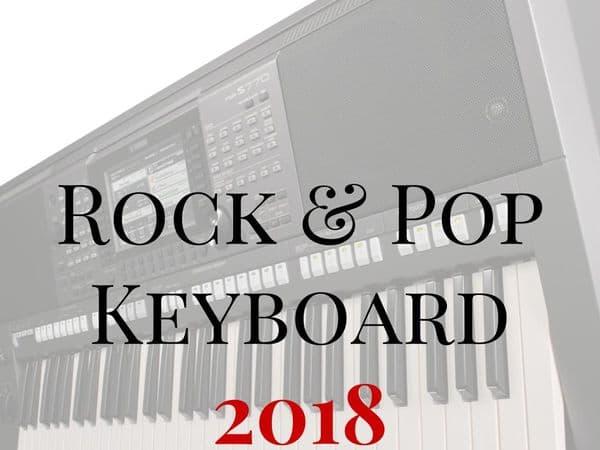Trinity Rock & Pop Keyboards 2018