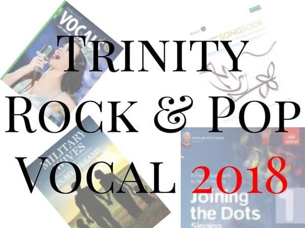 Trinity Rock & Pop Vocals 2018