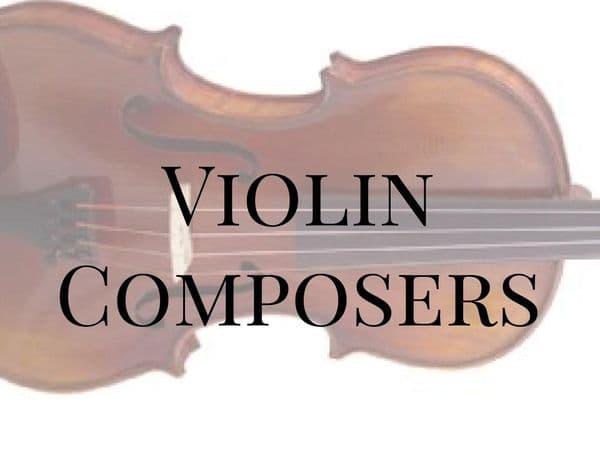 Violin Composers