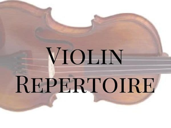 Violin Repertoire