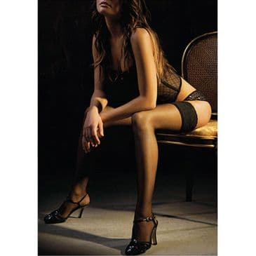 Charnos Boudoir Lace Top Hold Ups