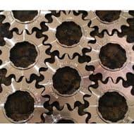 Onyx Rear Cogs Aluminium