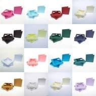 Midi Square Aperture Boxes With Cards - Invite, RSVP, Wedding, Birthday, Xmas