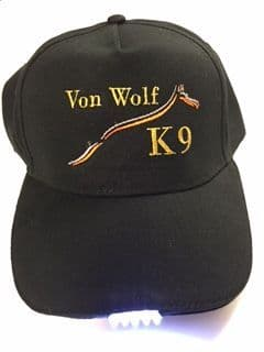Vonwolf Baseball Cap with LED