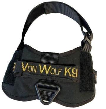 Vonwolf k9 Working/Service Dog Agitation Harness