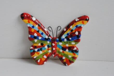 Barcino Designs Ceramic Butterfly Magnet 29698