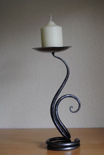 Belltrees Forge Candlestick  Fern