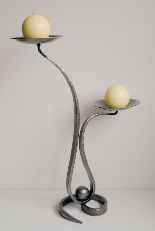 Candle holders Belltrees wrought iron candlestick Teardrop