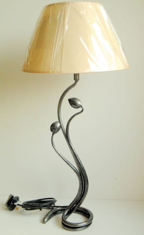 Belltrees Forge wrought iron table lamp Tulip Lamp
