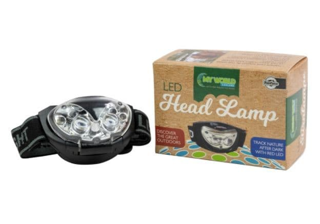My World LED Headlamp (with White &  Red light)