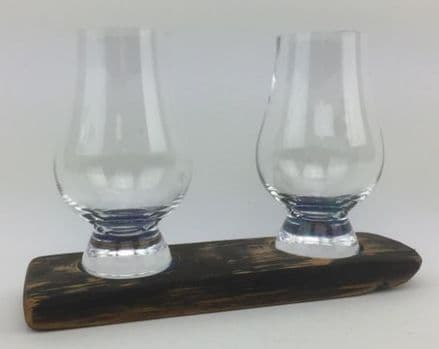 Twin  Whisky Glass Base Set
