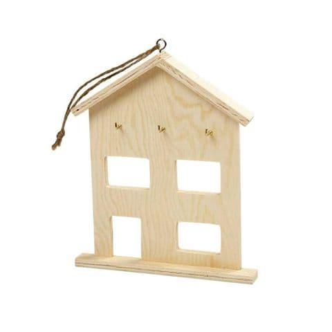 Flat Key Cabinet House