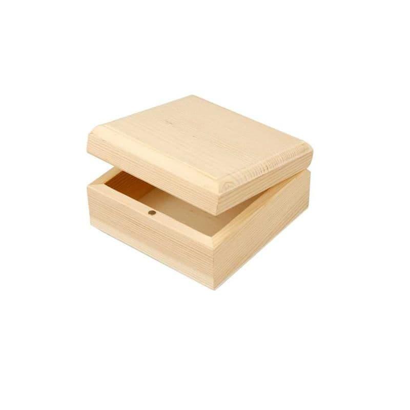 Small Jewellery Box - 9 x 9 x 5cm