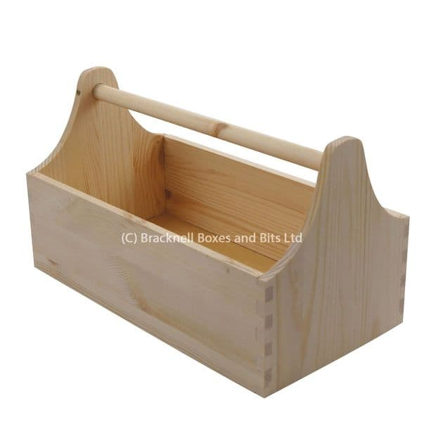 Wooden Tool Bucket / Tool Carrier / Tool Box / Tool Trug / Wood Box BPU101